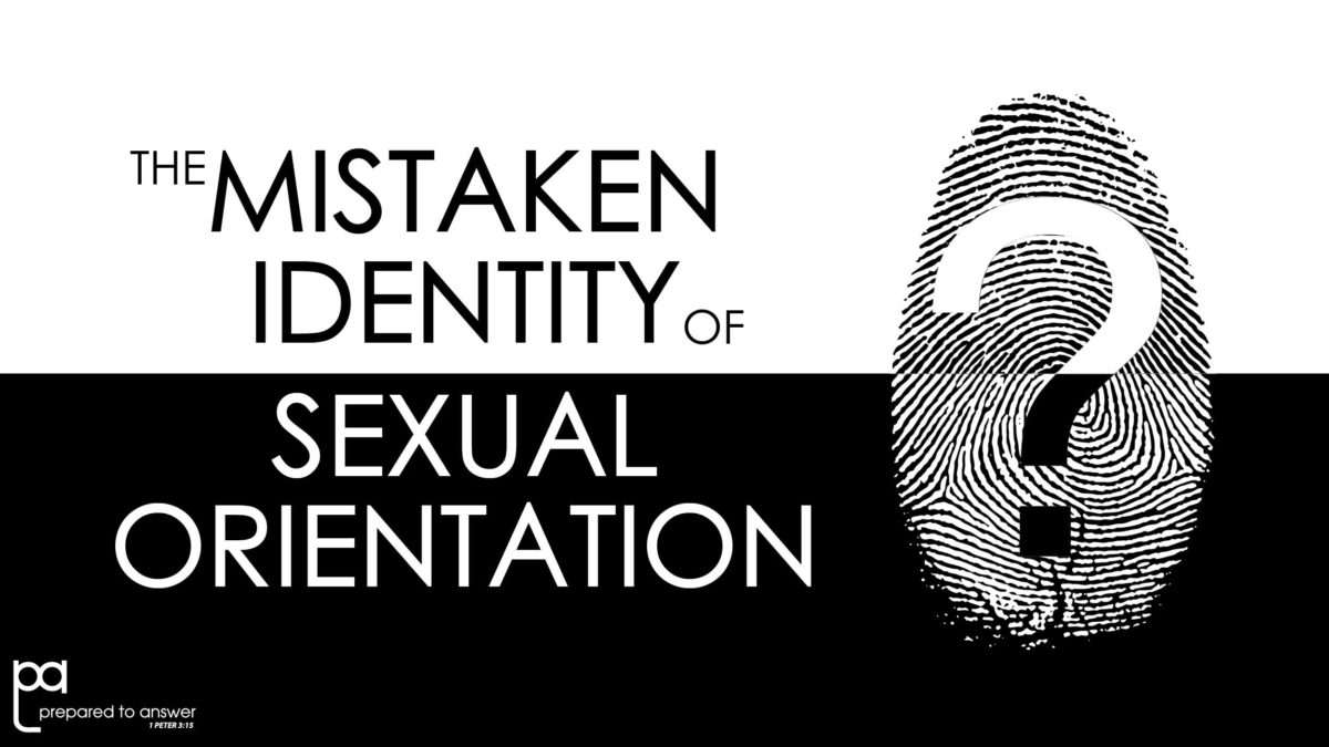 The Mistaken Identity of Sexual Orientation