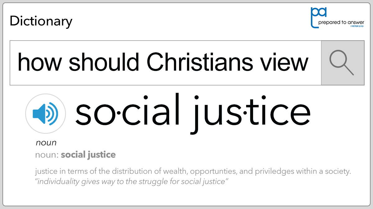 How Should Christians View Social Justice?