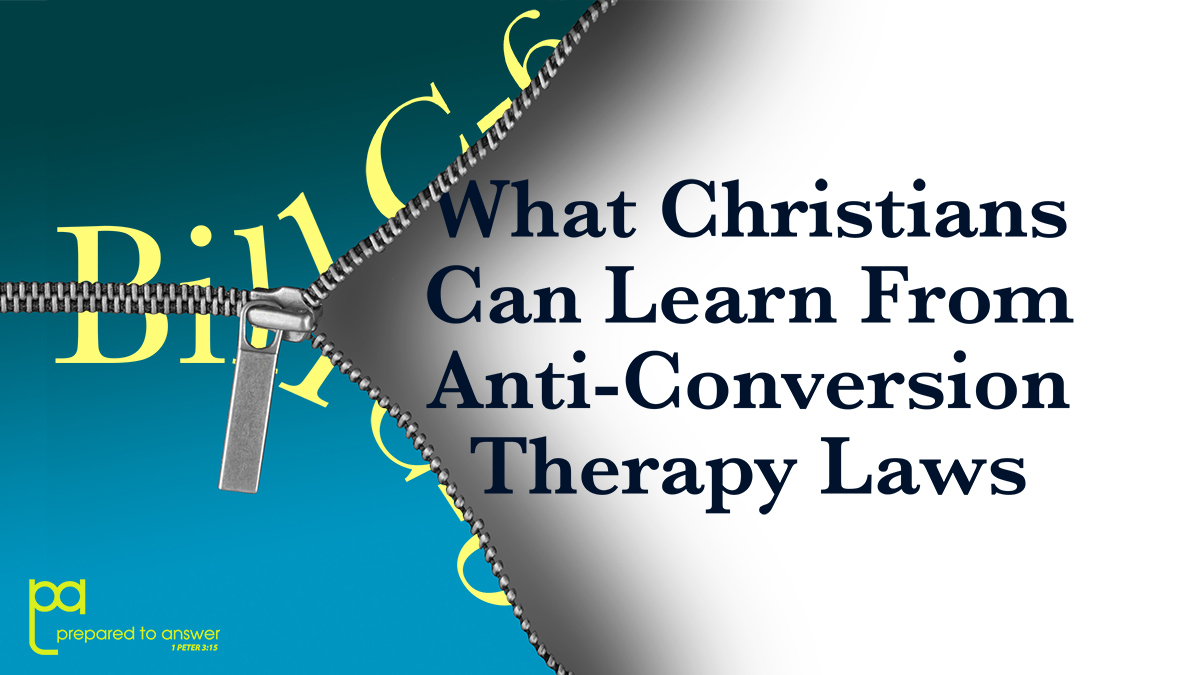 What Christians Can Learn from Anti-Conversion Therapy Laws